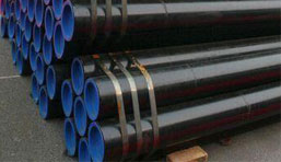 ASTM A335 P1 Alloy steel Seamless Pipes Packaging